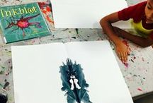 Ink blot / Art inspired by phycology and ink blots