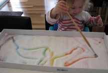 Writing your name / Fun ways to teach children how to write their names.