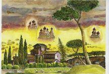 イタリアの街と風景