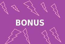 BONUS / toiveita jotka sopivat BONUS-teemaan