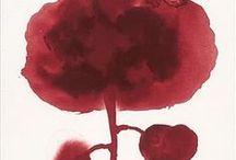 Bordeaux & Marsala / un rouge bordeaux intense, évoquant la terre, couleur Pantone 18-1438 de l'année 2015, terracota, grenat, vieux rose, rouge sombre, rouge chinois, rouge Pompéi...