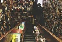 Des lieux et des livres / Le livre a une place prépondérante dans nos vies, et les lieux où il est représenté sont vastes et variés.