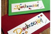 Danke by Akwarello / Thanks by Akwarello! Cards for every special occasion. www.akwarello.de