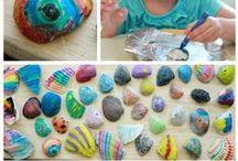 Beach art / Making Art At The Beach Or With Beach Materials