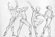 Anatomía pose/esqueleto