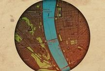 Planets of cities / City plans collection by mapshakers.com. License CC BY-NC-SA 2.0.