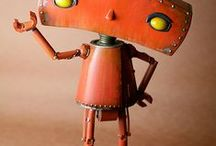 Robots ≧◠◡◠≦ / Sculptures