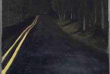 road paintings