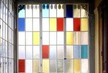 Verre & Vitrage / le matériau verre, en architecture, verrière, vitrage, vitraux, serre, dans le design, objets en verre...