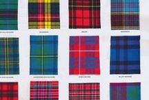 Irish & Scottish / l'Irlande et l'Ecosse, tweed et tartans, ...