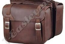 Motorcycle Bags / Leather Motorcycle Bags, Saddle Bags, Tool Bags, Sissy Bar Bags, Travel Luggages