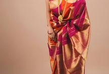 Sarees / Fallen in love all over again with sarees! I want to wear each one of them! :-D