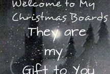 ♥~♥WeLcOmE♥~♥ / I love the nostalgia and warmth of Christmas. These yuletide themed boards are my way of reminding myself of past joys and new joys yet to come. I post Christmas photo's year round. Christmas reminds me of my father who was Santa to his nine children until his passing in January ,1978 of cancer. I was 17 and the youngest of us was just about to turn 4.  I will never forget our last Christmas together. I miss you Dad. Vance Henry Hirtle:  September 12, 1924- January 15, 1978.