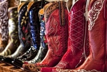 cowboy boots / by Marian van Exel