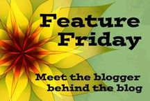 Feature Friday / A weekly blog feature where I interview book bloggers to get to know the blogger behind the blogs.