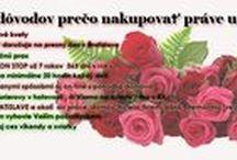 Kvetyprevas / Donáška kvetov a kytíc v Bratislave a okolí