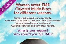 Tajweed Made Easy[Sisters Only] / A 13-weeks course to perfect your recitation....Only a few days left to enroll for this course! Click here to join http://bit.ly/TajweedMadeEasy  For any queries, please email promotions@islamiconlineuniversity.com