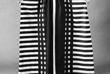 monochrome / b&w stripes