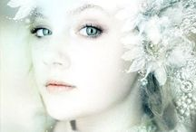 Snow Queen / Inspiration for the next stylised shoot....