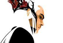 Thranduil / movies, celebs, illustrations