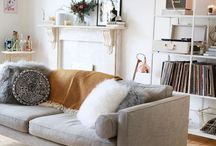 HOME / Home inspiration - colours, furniture and style.