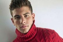Hot men in turtleneck sweaters / Hot men, in turtkenecks