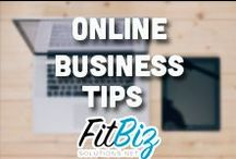 Online Business Tips / by FitBiz Solutions