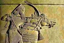 Bow and arrow - Antika / egypt, babylon, grécko...