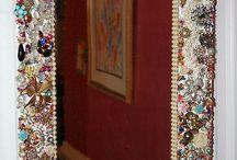 Interests, Home Decor, Mirrors / DIY ideas fir mirrors and frames