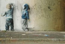 Art, Street Art / Street art throughout the world from 3D to stencil and freehand.