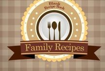 My Recipe Book / Ideas to print recipe book for the family
