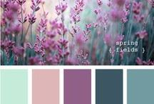 Color Palette for Painting / Trying out color palettes for my upcoming watercolor and gouache sketches.