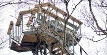 Słowiński NP Observation Towers / Design: 2014 | Construction: 2016 | Client: Słowiński National Park | Location: Słowiński National Park, Gardno / Kluki, Poland | Conceptual Design: VGR-Architecture Studio + Krystian Kwieciński | Construction Project: HABUD Sp. z o.o.