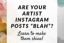 Instagram Marketing for Artists / instagram, marketing, artists, entrepreneurs, solopreneurs, handcrafted, etsy, deviantart, social media, photography, engagement, art commissions, small business, online business, passive income, introvert, digital commissions, art commissions, gallery, wall art, self promotion