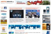 InstalNews.ro 2013 / Portal de stiri al revistei Tehnica Instalatiilor. Stiri, Noutati, Evenimente din domeniul instalatiilor