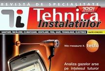 Revista Tehnica Instalatiilor 2012 / Numerele aparute pe parcursul anului