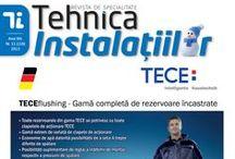 Revista Tehnica Instalatiilor 2013 / Numerele aparute pe parcursul anului