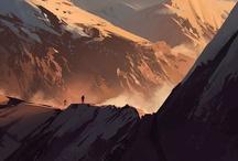 Environments / by Charles Ewart