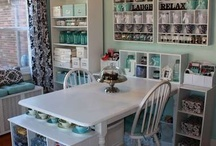 DECOR: Craft Room / Craft room inspirations