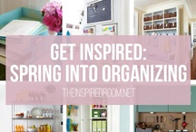 HOME: Organizing / Getting inspired of getting my life organized