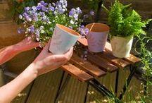 DIY: Cum să decoraţi un ghiveci de teracotă / Doriţi să vă înfrumuseţaţi grădina şi să transformaţi un simplu ghiveci de teracotă într-un obiect care să stârnească admiraţia prietenilor dumneavoastră? Dremel vă arată cum puteţi face acest lucru pas cu pas...  Materiale necesare: •Dremel 300 •Disc cu vârf diamantat 4,4 mm •Ghivece de teracotă •Vopsele emulsie în culori pastelate •Pensulă •Creion, radieră  Gradul de dificultate: două stele – nivel începător