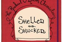 Shelled and Shucked / Coursework, navigating murky relationship waters, roommate drama, a psychics warning, and a terrifying encounter from the past are just some of Rachael's challenges. She will have to use cunning and wit to avoid being SHELLED AND SHUCKED. Available on Amazon.com.