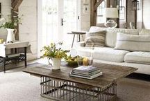 DECOR: Living Room / Get Cozy but Stay Glam