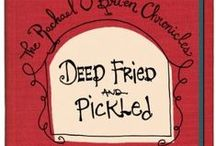 Deep Fried and Pickled / Rachael O'Brien transforms from a normal girl to a danger magnet who is thrust upon the dark side of the art world. These 1980 era novels, set on a southern college campus, are engaging and fresh who-dun-its with an original plot and a glorious cast of quirky characters. 9 book series available on Amazon.com