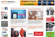 InstalNews.ro 2014 / Stiri, Evenimente, Noutati din domeniul instalatiilor
