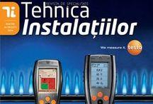 Revista Tehnica Instalatiilor 2014 / Numerele aparute pe parcursul anului