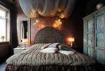 Relaxing bedrooms