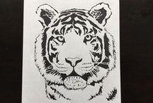 Paper cutting by Diane / Paper cut art