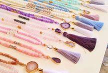 3 rangs de perles / Parce qu'on s'inspire toujours des autres ... !