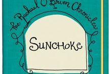 Sunchoke / Paisley Ray's SUNCHOKE pins Rachael O'Brien between myth and conspiracy as she races to make sense of the unexplained and attempts to align her orbit with destiny. Available on Amazon.